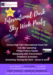 International Dark Sky Week Party @ Coonabarabran Race Course | Coonabarabran | New South Wales | Australia