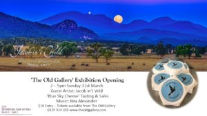 Jacob in't Veld Photography Exhibition Opening @ The Old Gallery, Coonabarabran | Coonabarabran | New South Wales | Australia